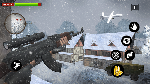 Call of Impossible Sniper World War 2 Hero 3D 1.1 screenshots 2