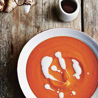 Sweet Potato Soup With Coconut Milk.