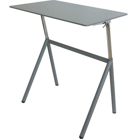 Bord höj- och sänkbar grå 96cm