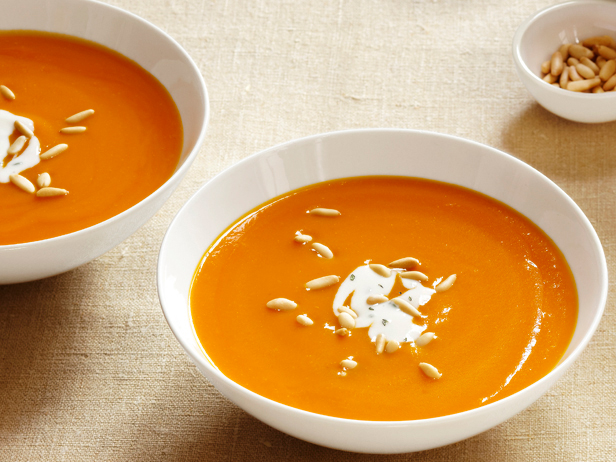 Photo: Get the recipe for Ginger-Carrot Soup >> http://ow.ly/h6sZM