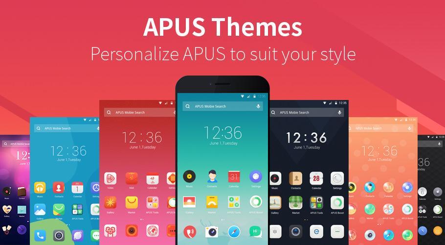 APUS Launcher-Small,Fast,Boost - screenshot