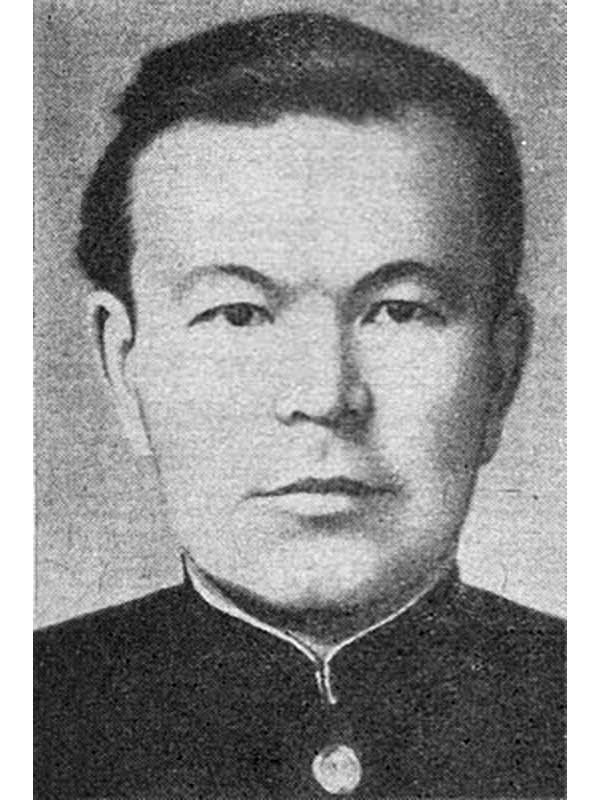 Бородин Н.А. - командир артиллерийской батареи 71 осбр