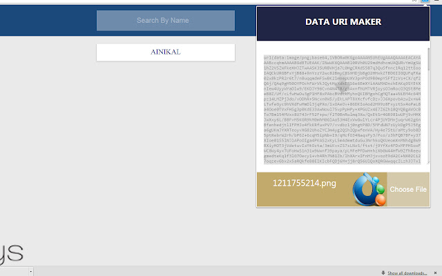 Data URI Maker