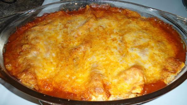 Cheesy Beef Enchiladas Recipe