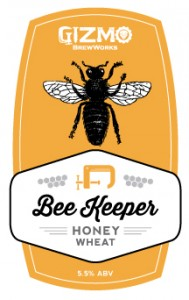 Logo of Gizmo Brew Works Beekeeper Honey Wheat