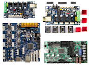 Controller Boards by Stepper Drivers