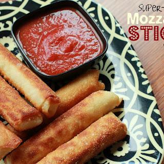Super-Easy Mozzarella Sticks