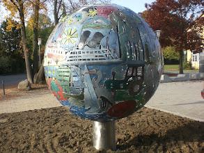 Photo: Langenargen Metallskulptur, Projektleitung Mirko Siakkou-Flodin