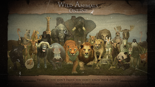 Wild Animals Online WAO 3.411 MOD + DATA (Unlimited Money) 1