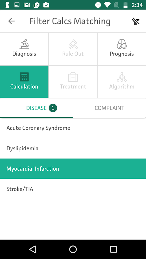 MDCalc Medical Calculator- screenshot