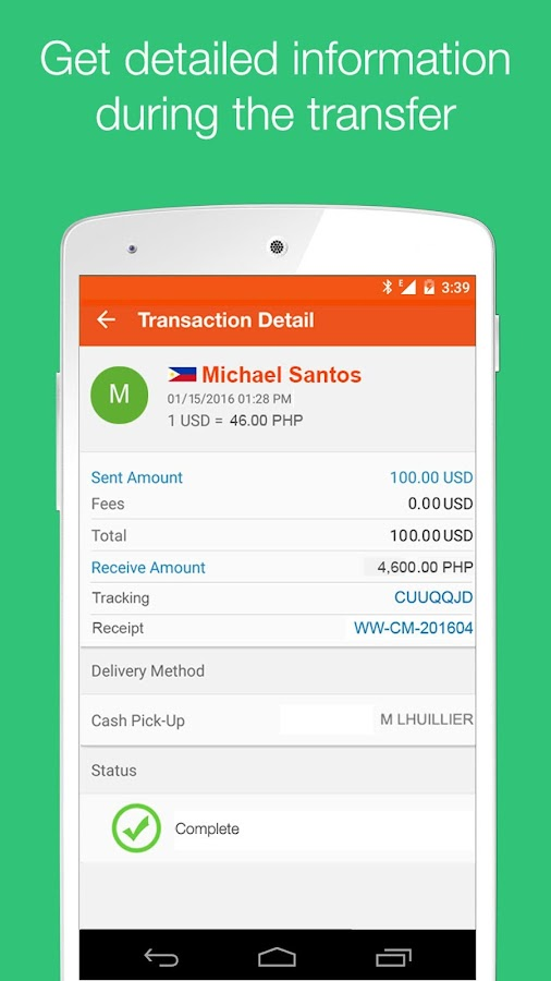 Lucky Money Transfer- screenshot