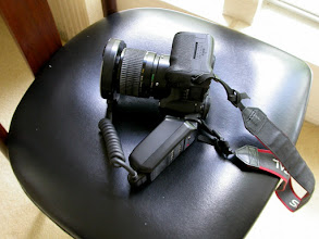 Photo: Having a large, soft place to quickly put down the camera is very helpful.
