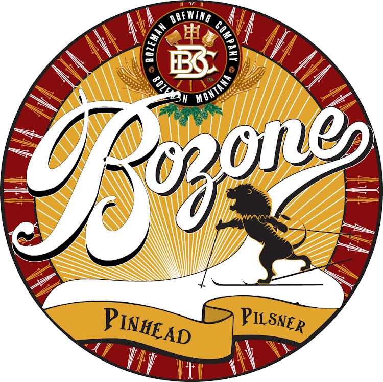 Logo of Bozeman Brewing Co. Bozone Pinhead Pilsner