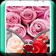 Pink Rose Zipper Lock