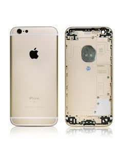 iPhone 6S Housing without small parts HQ Gold