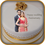 Anniversary Cake Frame Photo Editor Blend Me Apps Bei Google Play