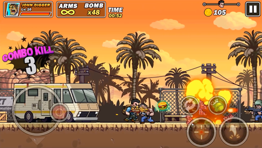Télécharger Metal Sold : Super Shooter Slug mod apk screenshots 3