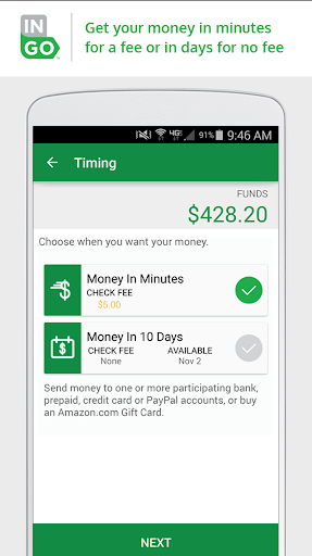 Ingo Money – Cash Checks Fast Screenshot