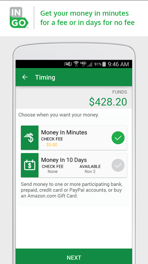 Ingo Money – Cash Checks Fast- screenshot