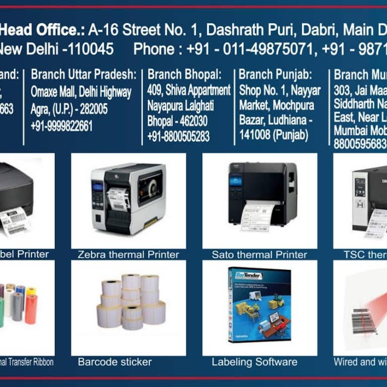 Tsc printer, Barcode printer, zebra printer Dealer, in