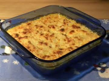Christy's Cauliflower/Bacon Casserole