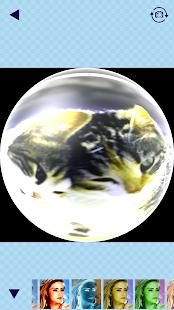 Rybí Oko Objektivu Kamery - náhled