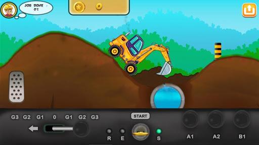 I am an Excavator Runner android2mod screenshots 5