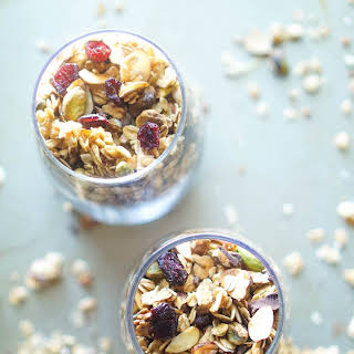 Baked Trail-Mix with Oats.