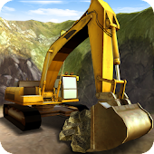Construction Excavator 3D Sim