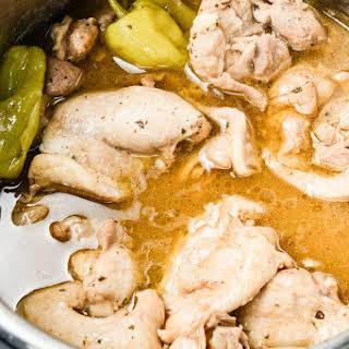 Mississippi Chicken Electric Pressure Cooker.