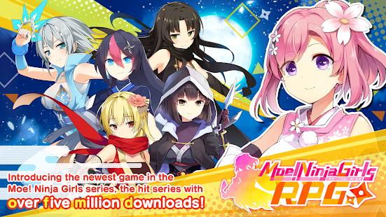 How to hack Moe! Ninja Girls RPG: SHINOBI for android free