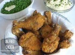 Unfried Chicken