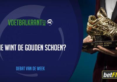 Debat van de week: wie wint de Gouden Schoen?