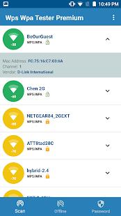 WIFI WPS WPA TESTER Screenshot
