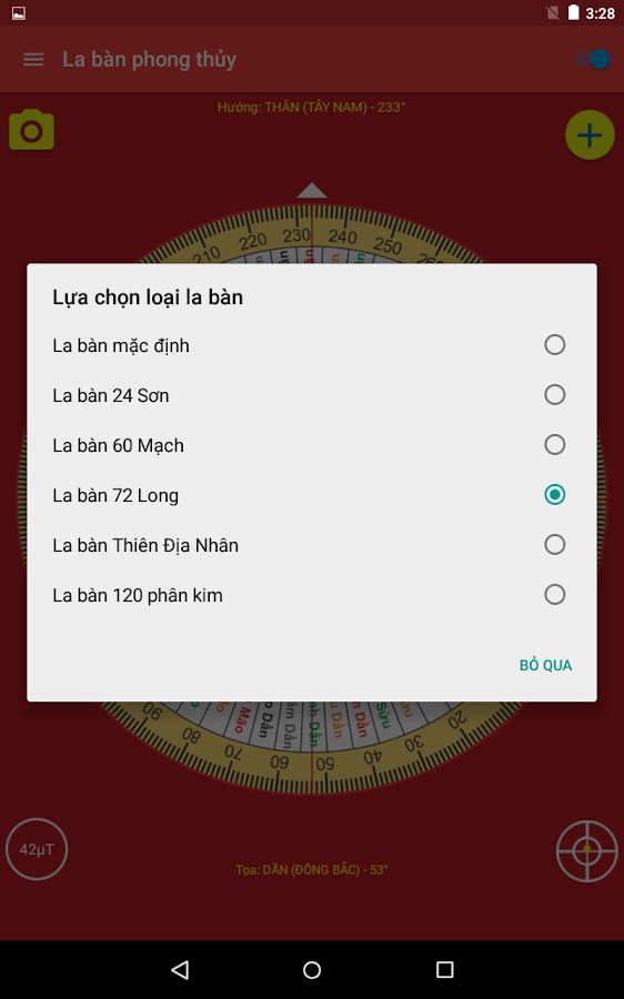 La ban phong thuy - screenshot