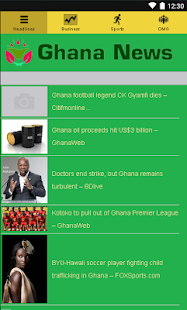 Ghana News- screenshot thumbnail