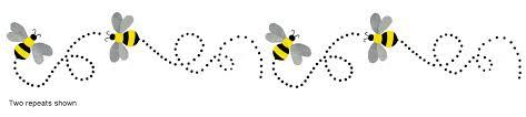 Free Bee Border Cliparts, Download Free Clip Art, Free Clip Art on ...