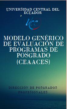 Modelo Generico Evaluación Programas de Posgrado