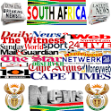SOUTH AFRICA NEWSPAPERS & NEWS icon