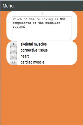 Medical School Apps: Muscles- screenshot