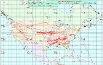 Photo: 50 MHz eSkip - 2014-06-15 1747z ARRL June VHF 2014