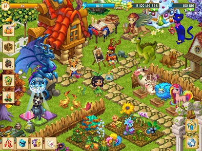 Fairy Farm - Games for Girls- screenshot thumbnail