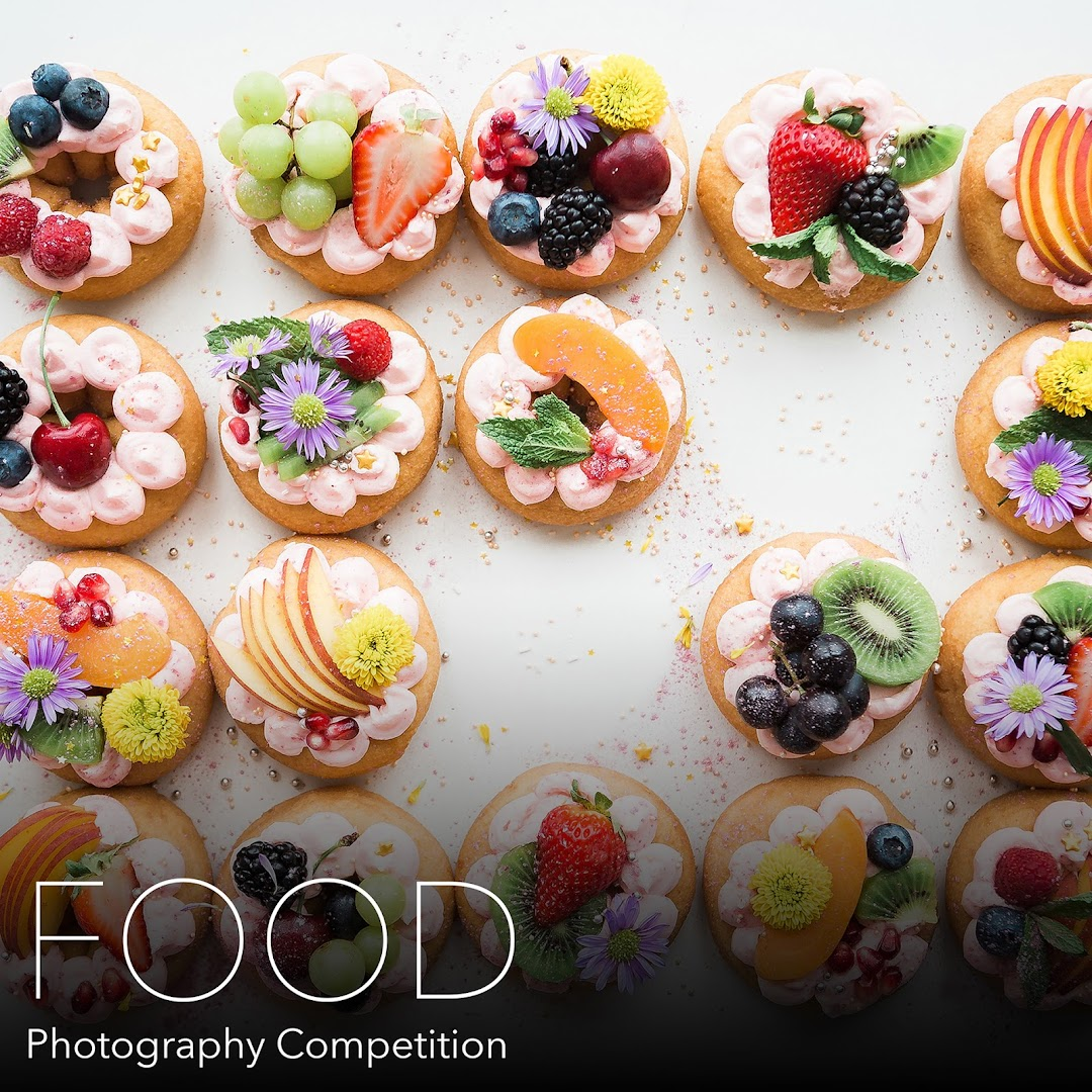 Food Photography Photography Competition. Capture and submit photos of delicious food from all around the world.