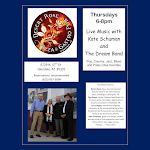 """Live Band in the Dining Room """"Kate and the Dream Band"""""""