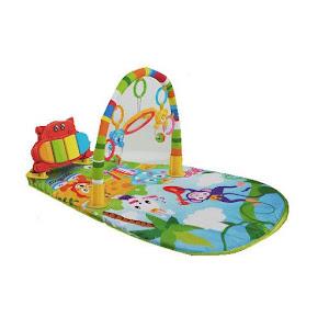 Saltea activitati bebelusi, model pian, 75x50 cm, multicolora