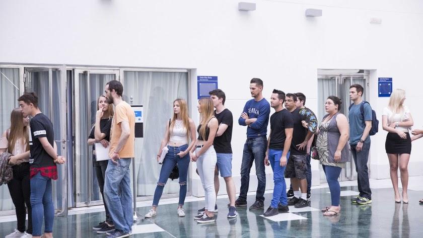Casting para la serie Mar de Plástico en Almería.