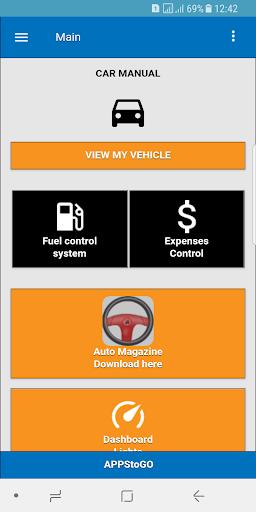 Car Manual - Problems and Repairs screenshots 1