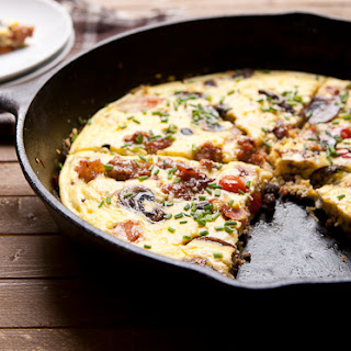 English Breakfast Frittata Recipe