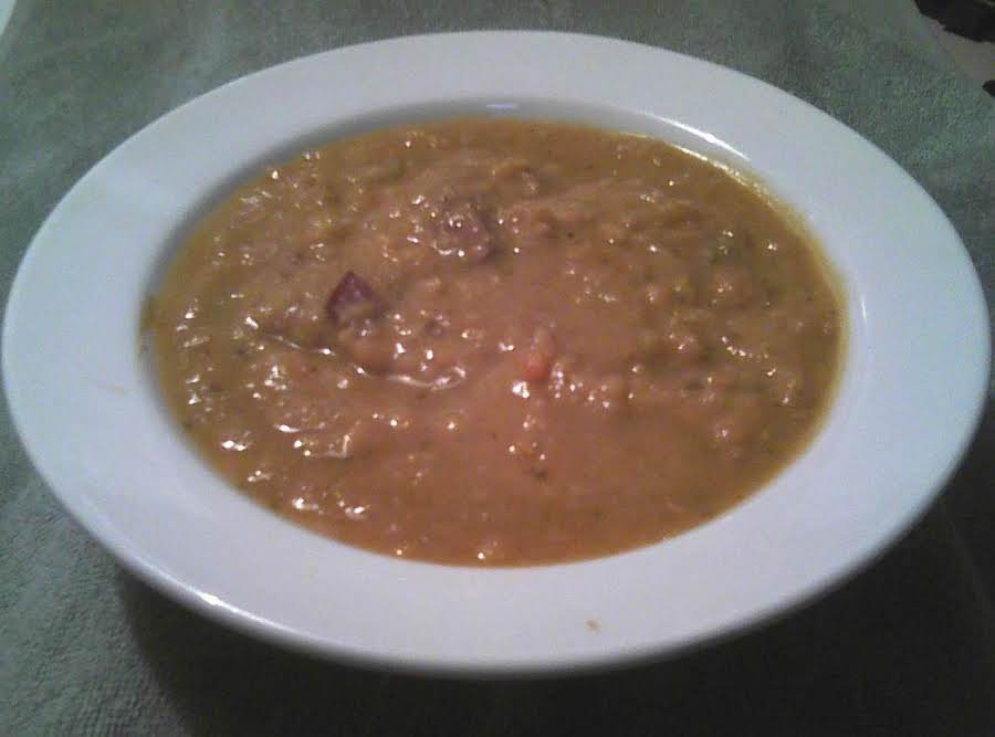 Crockpot Yellow Split Pea Soup Recipe Just A Pinch Recipes