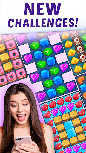 Gummy Paradise - Free Match 3 Puzzle Game  screenshots 3